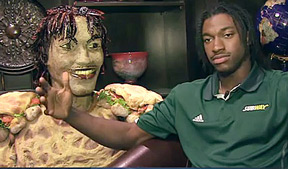 NFL Draft 365 sits down with NFL Draft top prospect Robert Griffin III to take a look at his very own Subway Sandwich.