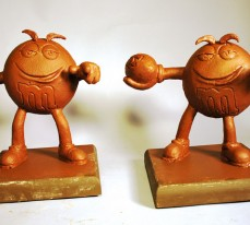 Chocolate Sculptures by Jim Victor and Marie Pelton